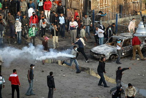 Mass Riots in Egypt