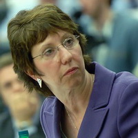 The Representative of the European Union for Foreign Affairs and Security Policy Catherine Ashton