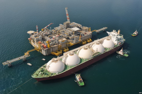 Deliver liquefied natural gas (LNG) to Europe is possible only by sea