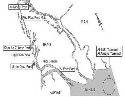 Port infrastructure of the Republic of Iraq