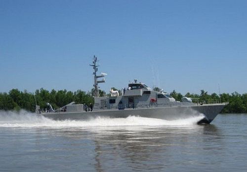 35th patrol boat made by Swiftships firm