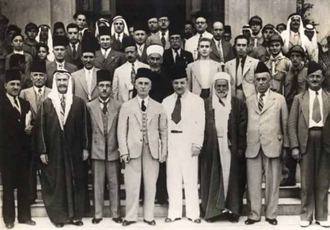 "In September 1937, the pan-Arab summit in the Syrian village of Bloudan called for a ""boycott of Jewish goods and activities"""