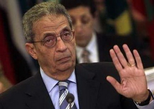 Former Secretary-General of the Arab League Amr Moussa