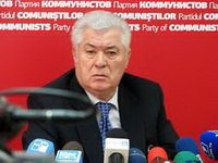 The leader of the opposition  Party of Communists of the Republic of Moldova (PCRM), Vladimir Voronin