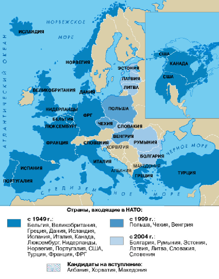 NATO's expansion in Europe