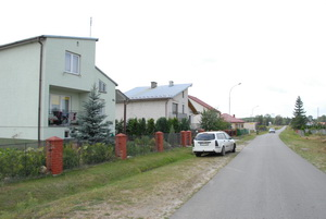 The village Shchutkiv today. Here once stood the grandfather's home