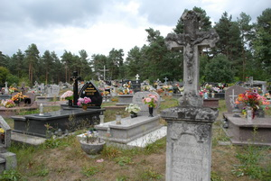 Ukrainian graves are getting fewer, their place being taken by  Polish ones