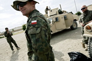 Polish contingent in Operation  Iraq's  Freedom