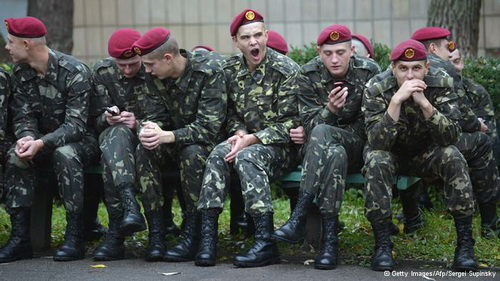 State of the Ukrainian army is considered deplorable; in the inventory is defence equipment of Soviet era. But after the fall of the USSR, Ukraine was the third largest nuclear power in the world
