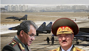 A.Lukashenko rejected the statement  of the Defence Minister Shoyhu concerning the plans of the sides to create in the nearest future a Russian aviation base at the Belarusian territory