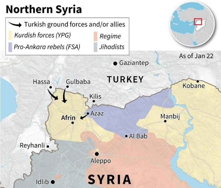 Afrin The Olive Branch Is Losing Its Pace