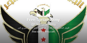 The emblem of the Free Syrian Army