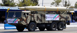 "Single-stage solid-propellant ballistic missile ""Fateh-110"""