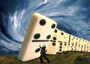 "The main reasons for the global financial and economic crisis in 2008 was the problem of debts in the USA, because of which, actually, took place the so-called ""domino effect"""