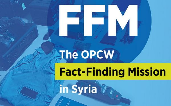 April 21, 2018, experts from the OPCW were finally let to the Syrian city of Douma