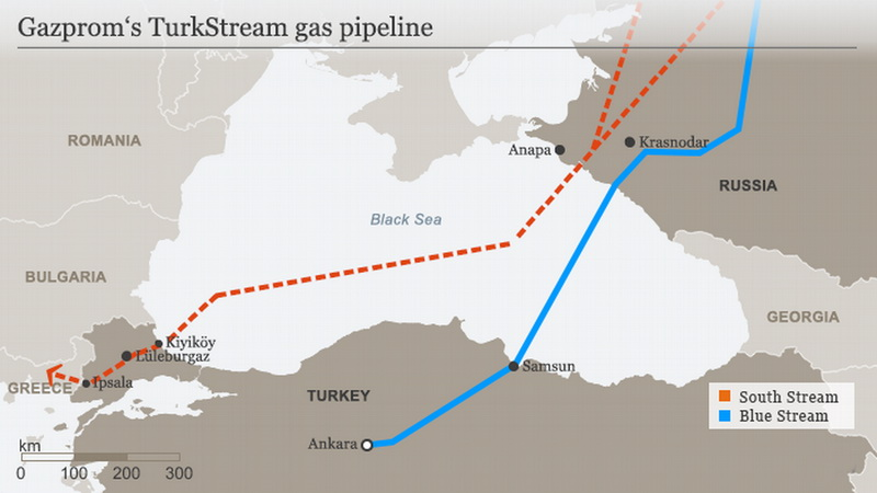 "Project of the ""Turkish Stream"" gas pipeline"