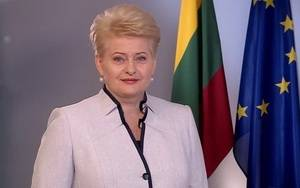 President of the Republic of Lithuania Dalia Grybauskaite