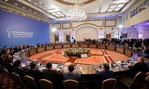 The negotiations in Astana