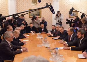 The negotiations in Moscow, January 27