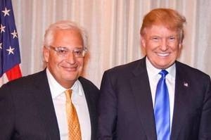Donald Trump and David Friedman