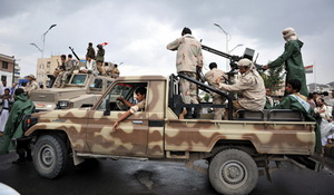 Sana'a. Militant activity increases